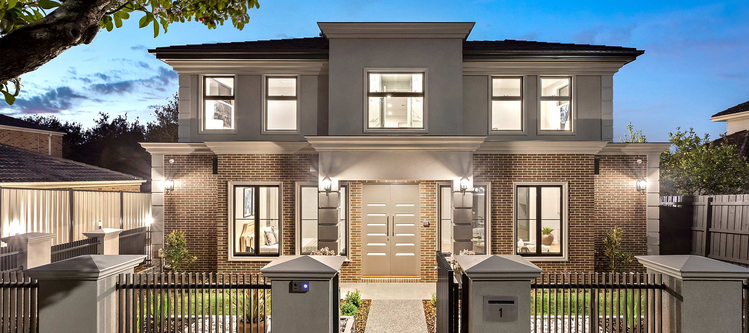 Multi dwelling development: Box Hill North