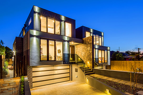 Multidwelling family homes Box Hill North